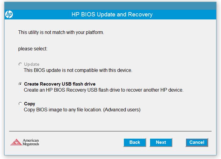 惠普电脑离线更新BIOS教程,无法开机时更新BIOS的方法