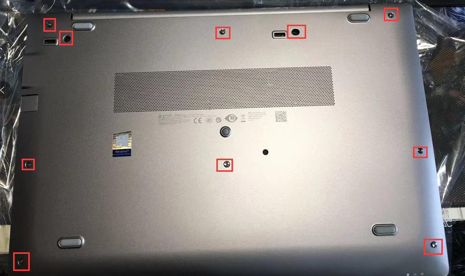 【视频】HP 移动工作站 Zbook 15U G5 拆机视频加内存加固态