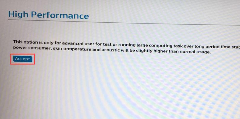 HP 战66 G1 笔记本电脑如何设置高性能 不降频 开启 High Performance