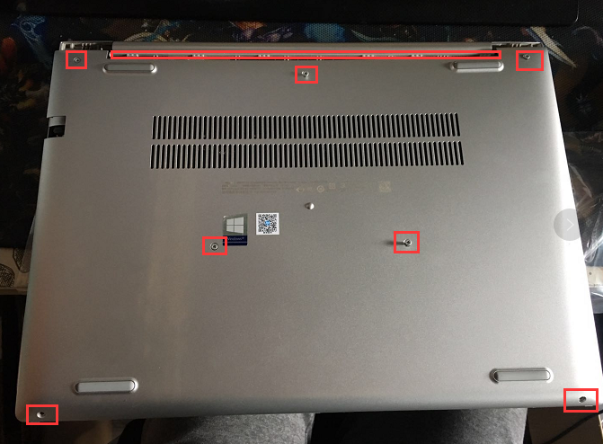 【视频】惠普HP Probook 450 G6 系列拆机视频拆机加内存硬盘升级