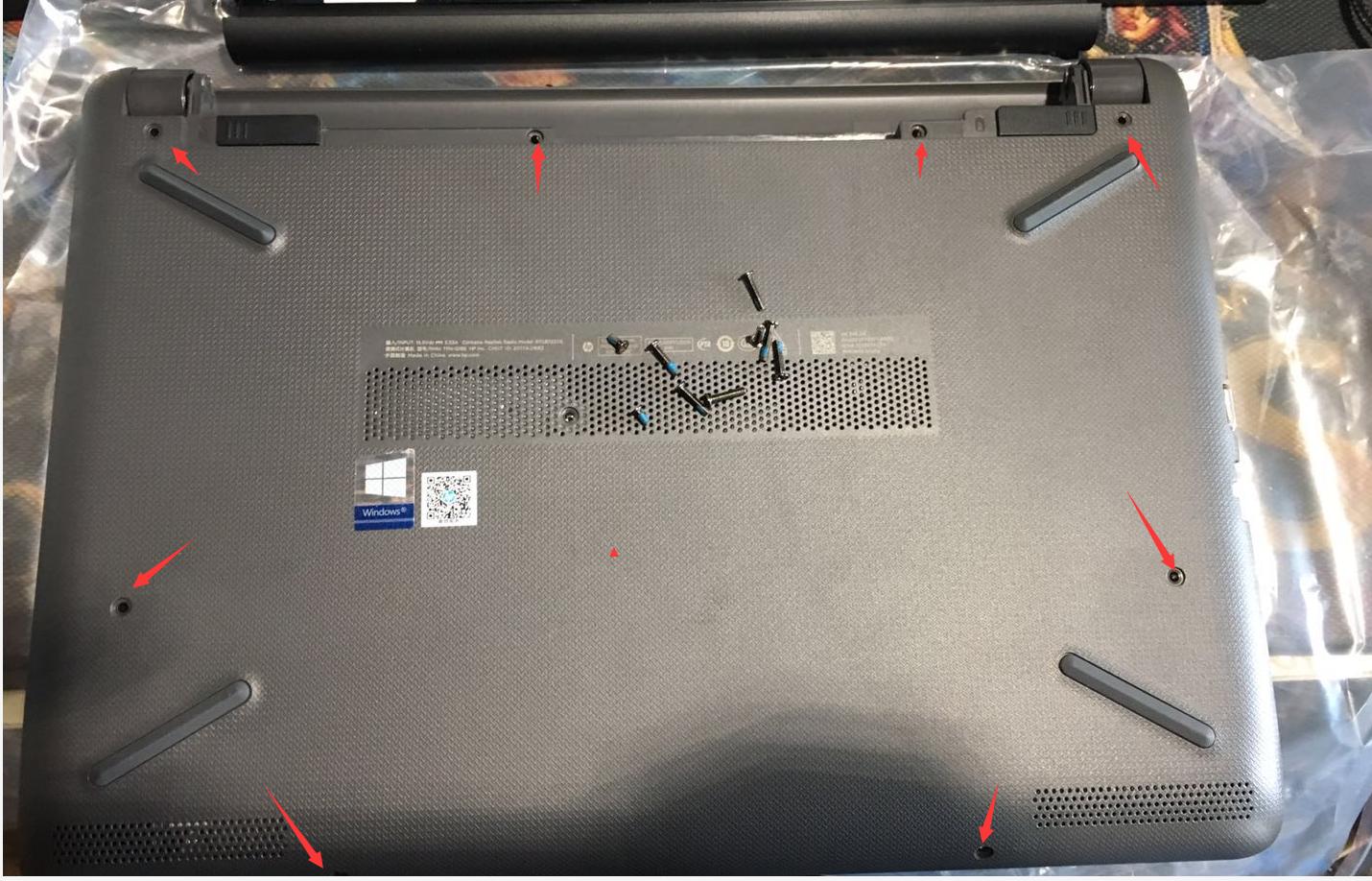 【视频】惠普HP 246G6 拆机加内存加固态视频教程