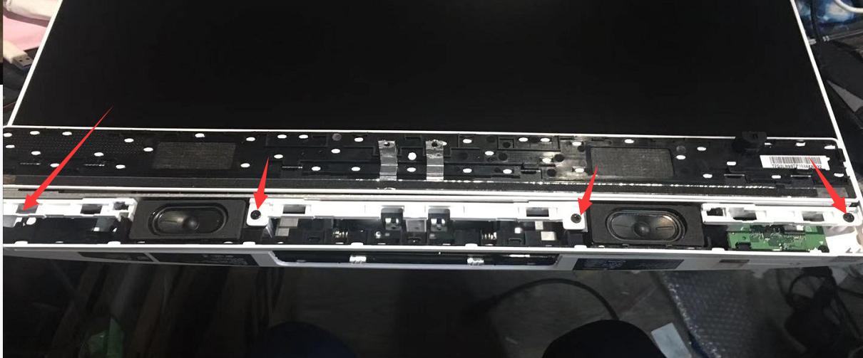 【图文教程】HP All-in-One 24-f033wcn  24-f0xxxx 拆机安装内存 固态的教程