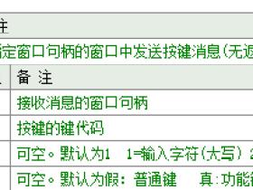 易语言 句柄按键 后台按键模拟